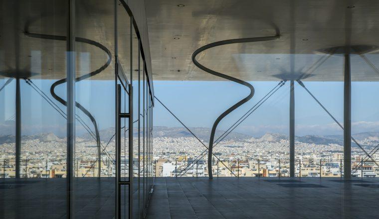 Το Ενεργειακό Στέγαστρο στην κορυφή του κτιρίου του ΚΠΙΣΝ  (credits: ΙΣΝ/Πηνελόπη Γερασίμου)