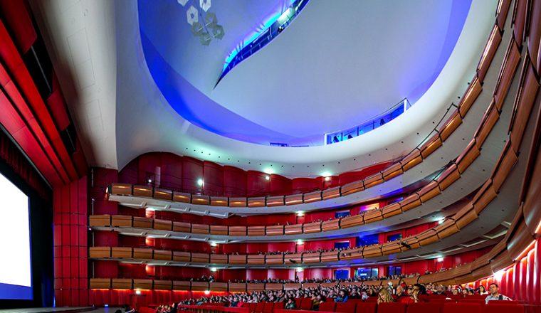 The new hall of the Greek National Opera   (credits: SNF/Nikos Karanikolas)