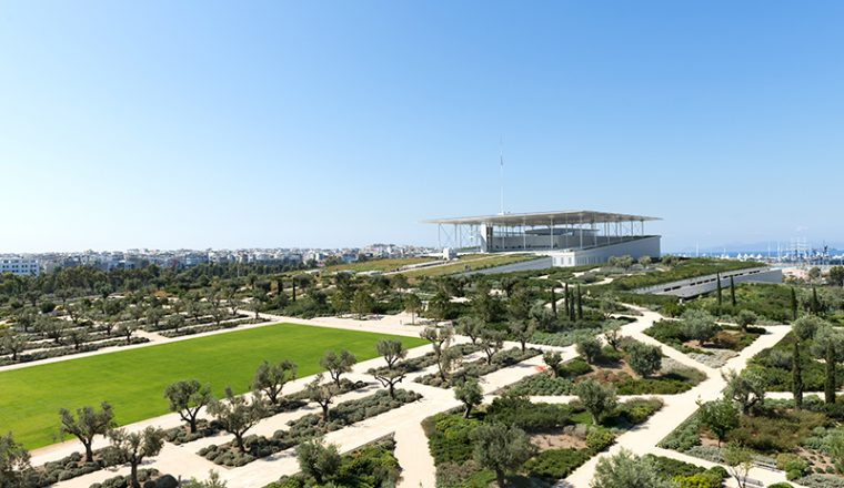 The Park at the Stavros Niarchos Foundation Cultural Center   (credits: SNF/Yiorgis Yerolymbos)