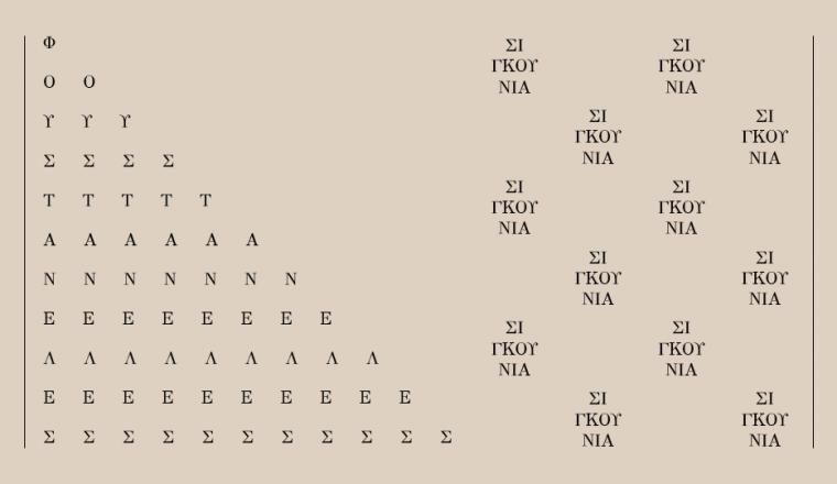 Αριθμός Φύλλου [1821]: Φουστανέλες και Σιγκούνια